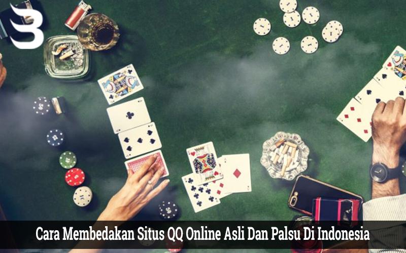 Cara Membedakan Situs QQ Online Asli Dan Palsu Di Indonesia